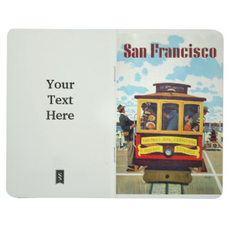 San Francisco USA Vintage Travel pocket journal