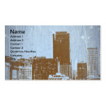 San Francisco View Double-Sided Standard Business Cards (Pack Of 100)
