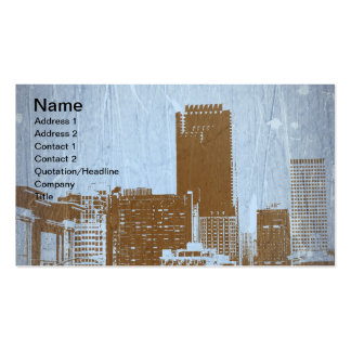 San Francisco View Business Card