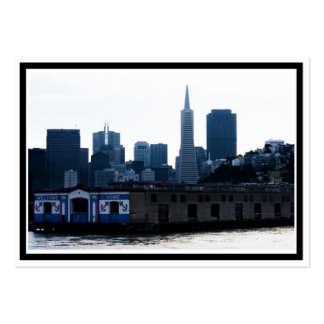 San Francisco View from the Bay Large Business Cards (Pack Of 100)