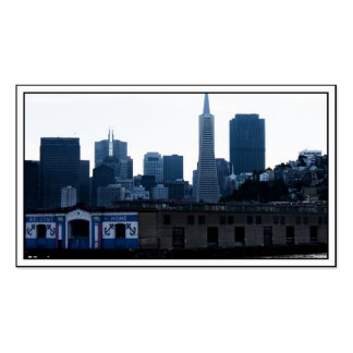 San Francisco View from the Bay Double-Sided Standard Business Cards (Pack Of 100)