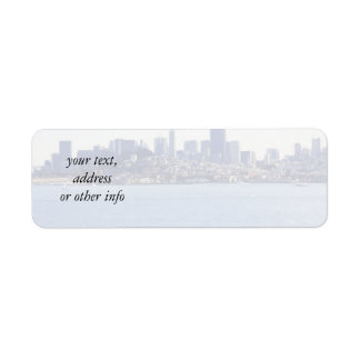 San Francisco View From the Bay Custom Return Address Labels