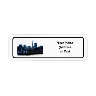 San Francisco View from the Bay Return Address Label