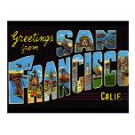 San Francisco Vintage Postcard Post Cards
