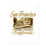 San Francisco Vintage Retro Design Postcards