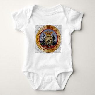 San Francisco Vintage seal Baby Bodysuit