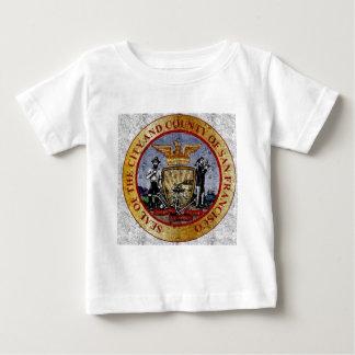 San Francisco Vintage seal Baby T-Shirt