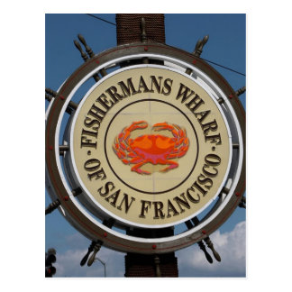San Francisco Warf Postcard