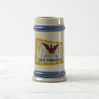 San Francisco Waving Flag Beer Stein