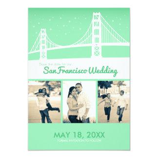 San Francisco Wedding Save-the-date Card