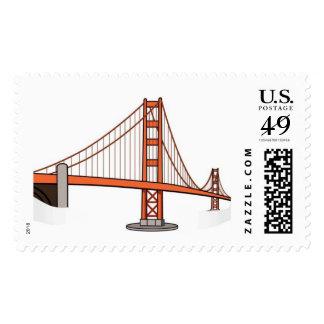 San Francisco Wedding Stamp