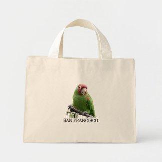 San Francisco Wild Parrot #7 Canvas Bags