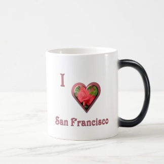 San Francisco -- with Red Rose Magic Mug