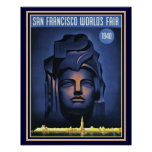 San Francisco World's Fair 1940 Print -16 x 20