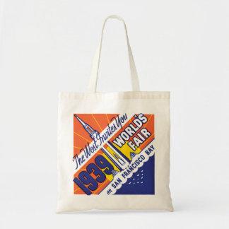 San Francisco Worlds Fair Canvas Bags