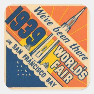 San Francisco World's Fair Sticker