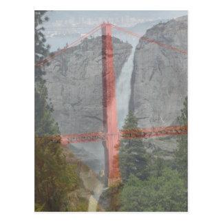 San Francisco y cascada Postal