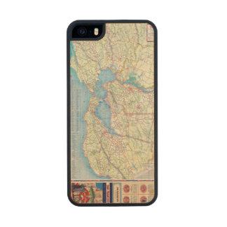 San Francisco y vecindad Funda De Arce Carved® Para iPhone 5