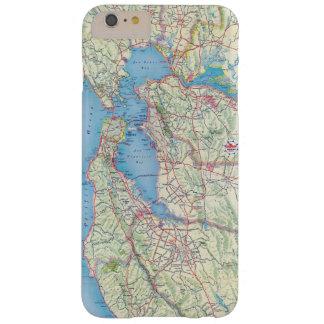 San Francisco y vecindad Funda Para iPhone 6 Plus Barely There