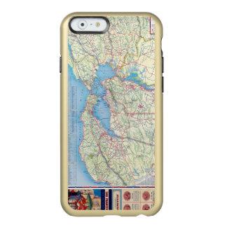 San Francisco y vecindad Funda Para iPhone 6 Plus Incipio Feather Shine