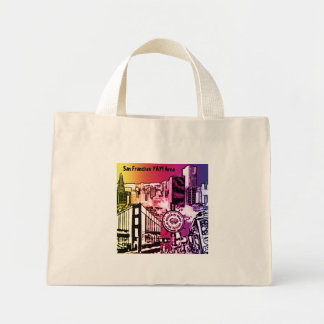 San Francisco YAY! Area Mini Tote Bag