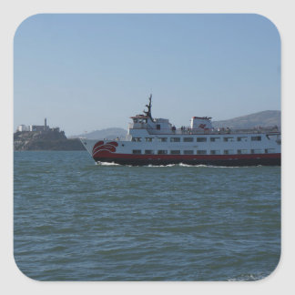 San Francisco Zalophus Ship Stickers