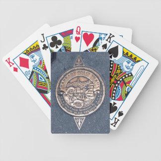 San Francisco's Barbary Coast Trail playing cards