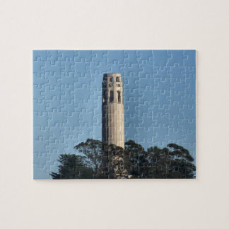 San Francisco's Coit Tower Jigsaw Puzzle