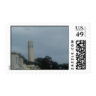 San Francisco's Coit Tower Stamp