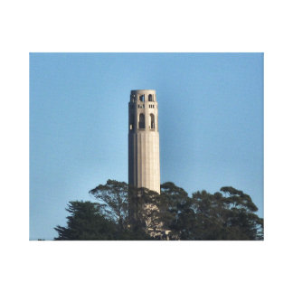 San Francisco's Coit Tower Stretched Canvas Prints