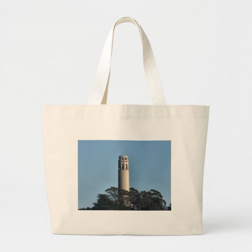 San Francisco's Coit Tower Tote Bags