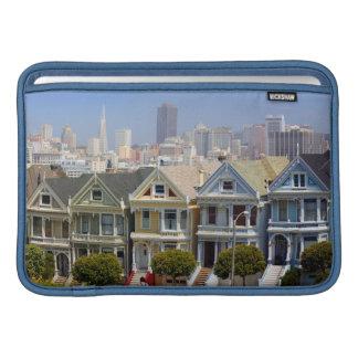 San Francisco's Famous Painted Ladies MacBook Air Sleeve