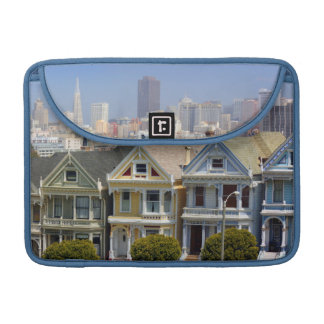 San Francisco's Famous Painted Ladies Sleeves For MacBook Pro