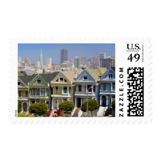San Francisco's Famous Painted Ladies Postage