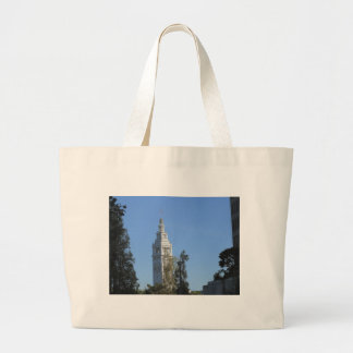 San Francisco's Ferry Building Large Tote Bag