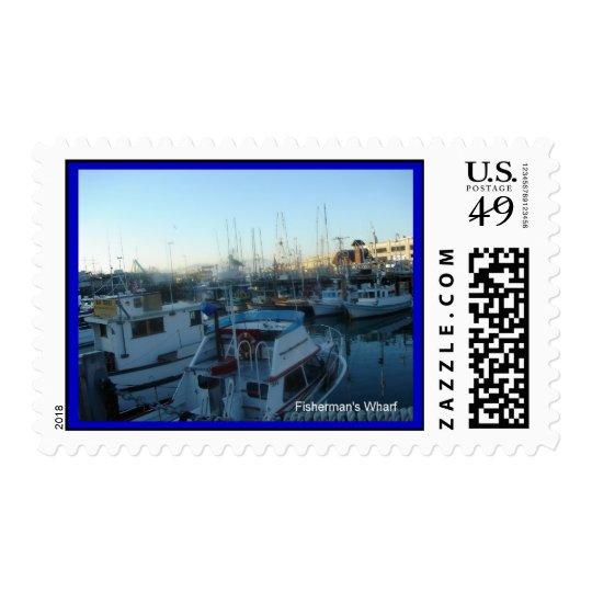 San Francisco's Fisherman's Wharf Postage