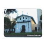 San Francisco's Mission Dolores Rectangular Magnets