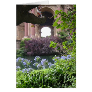 San Francisco's Palace of Fine Arts Card