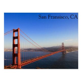 San Fransisco, CA Tarjeta Postal