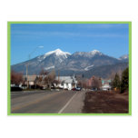 San Fransisco Mountains Looking Across Flagstaff Post Card