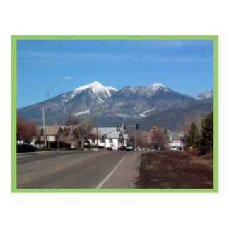 San Fransisco Mountains Looking Across Flagstaff Postcard