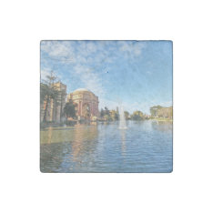 San Fransisco Palace Of Fine Arts Stone Magnet at Zazzle