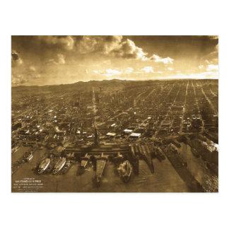 San Fransisco Panorama after 1906 Earthquake Postcard