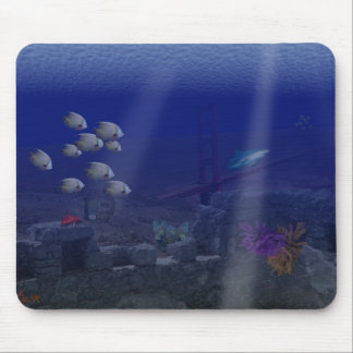 San Fransisco Underwater Mouse Pad