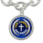 San Gabriel Arcangel Pulseras Con Dijer