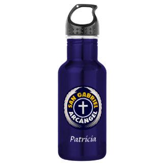 San Gabriel Arcangel Stainless Steel Water Bottle
