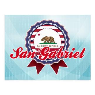 San Gabriel, CA Post Card