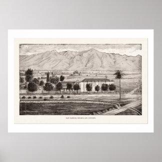 San Gabriel Mission 1886 Posters