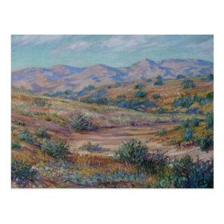 San Gabriel Mountains Postcard