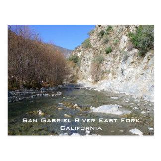 San Gabriel River East Fork Postcard! Postcard